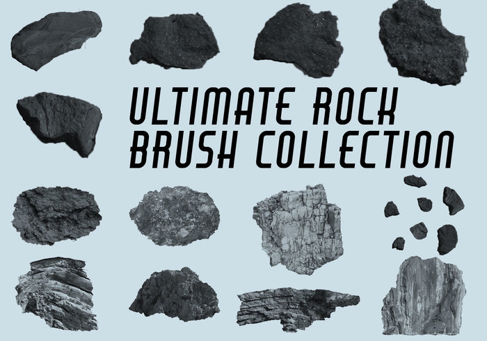 Ultieme Rock Brush Collection