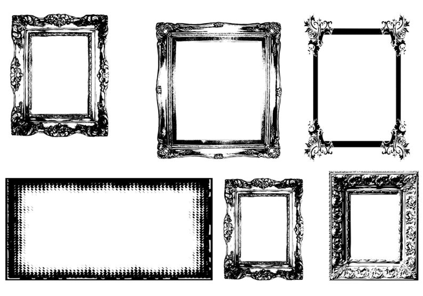 frames brushes free photoshop brushes at brusheezy. Black Bedroom Furniture Sets. Home Design Ideas