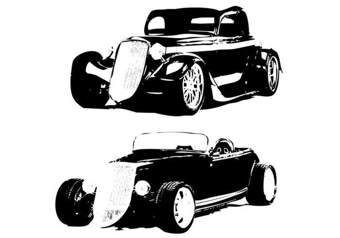 S & T Hot Rod Formen