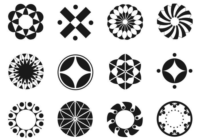 Circle Brush Elements Pack