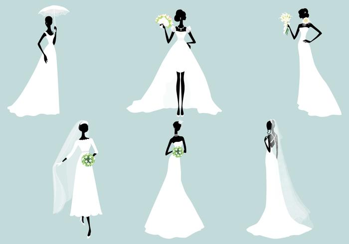 Bride Brush Silhouette Pack