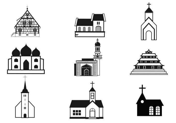 Churches Brushes Pack