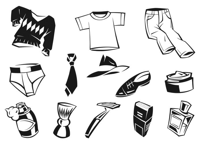 Funky Male Apparel Brushes and Accessories Pack