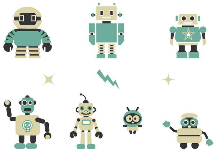 Quirky Robots Borstar Pack