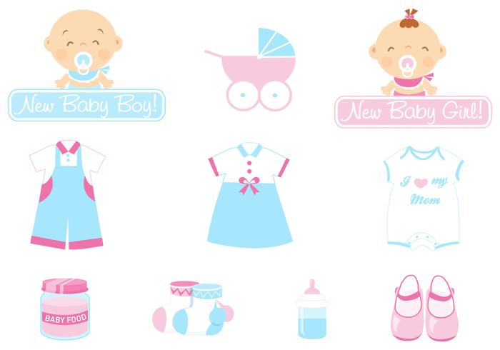 Baby pictogram kwast pack