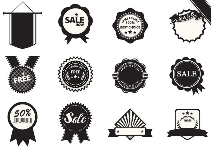 Business Badge Brushes Pack