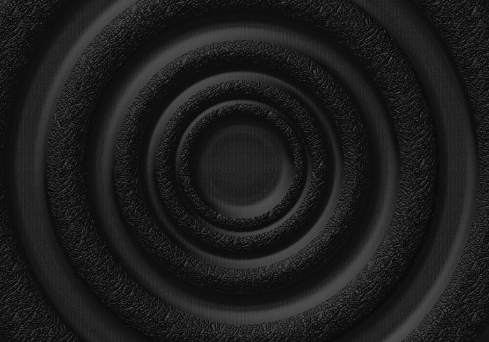 Padded Techno Rings Background Texture