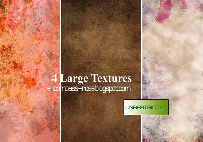 A4 Grungy Papier Texturen