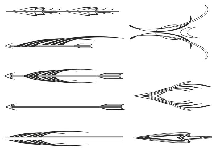 Decorative Arrows Brush Pack