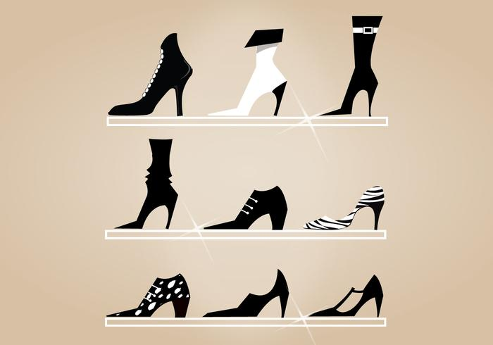 High Heel Shoes Brush Pack
