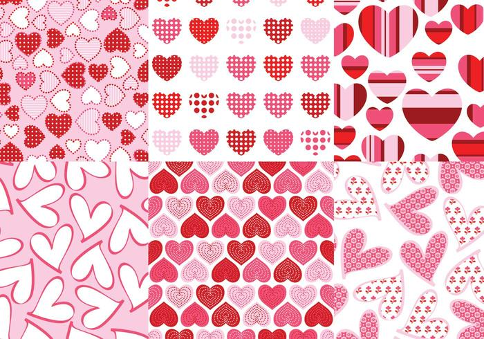 Loving Hearts Pattern Pack