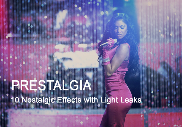Prestalgia - 10 Retro Action Effects with Light Leaks