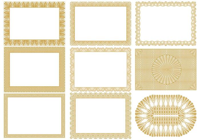 Certificate Border Brushes Pack