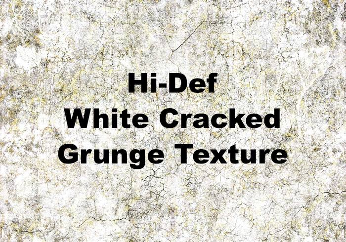 Hi-Def White Cracked Grunge Textur