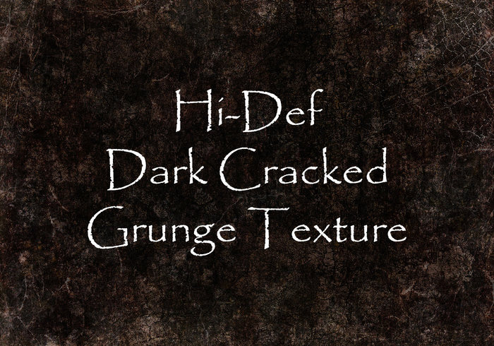 Hi-def dark cracked grunge texture