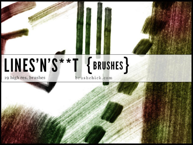 Lines n S**t Grunge Line Brushes