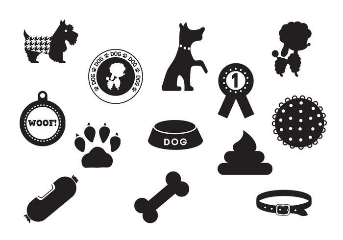 Dog Brushes Icon Pack