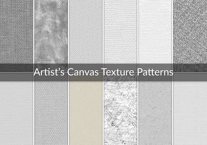 12 Artist's Canvas Texture Patterns - Free Photoshop Brushes at ...