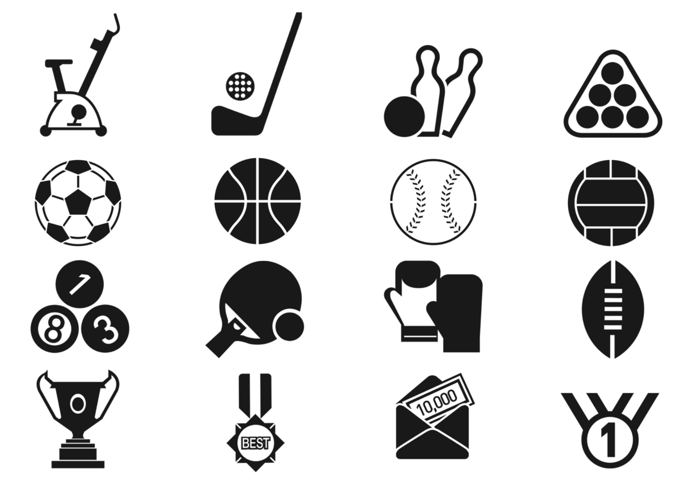 sports icon vector brushes pack football olympic sport photoshop clipart graphics vectors file ball club brusheezy awesome downloaded pictograms users