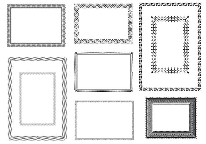 Certificate Brushes and Frames Pack