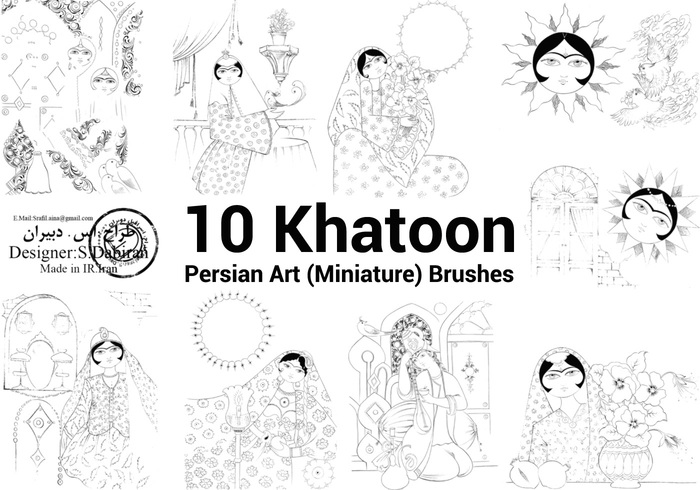 Khatoon( Miniature)