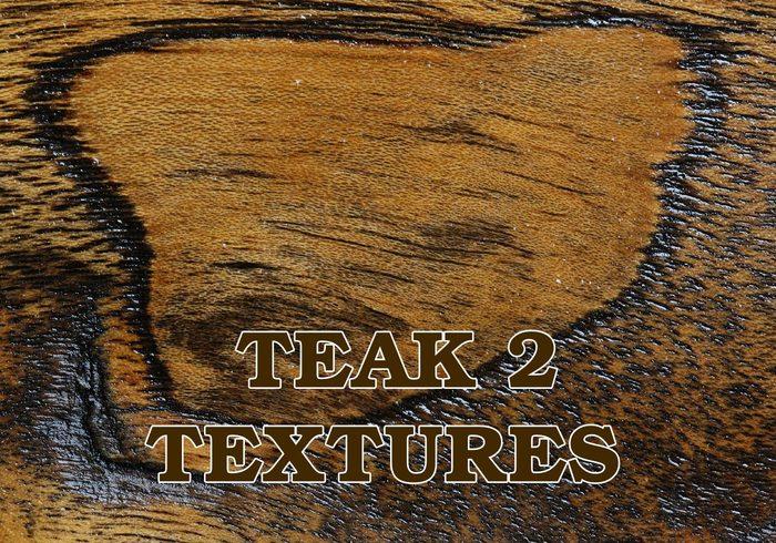 4 große Teakholz Holz Texturen 2