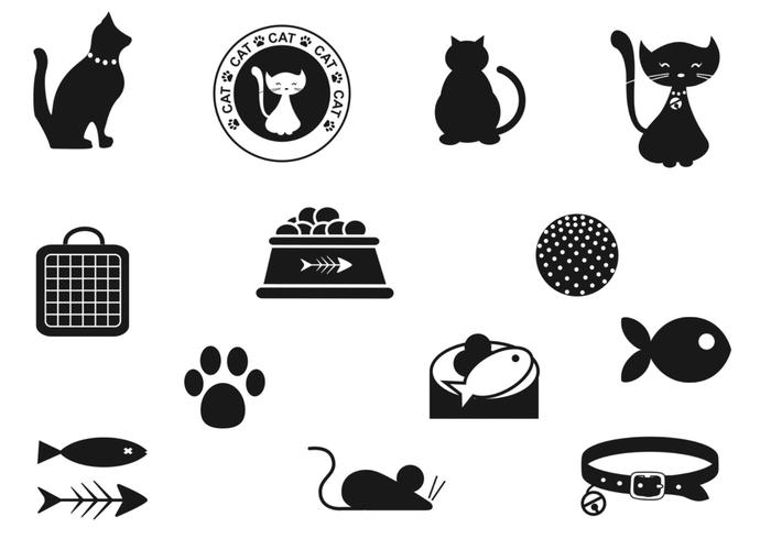 Cat Brush Icons Pack