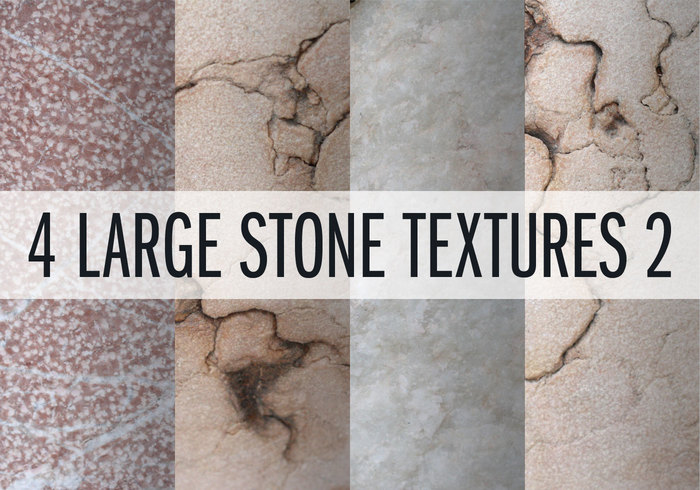 4 Large Stone Textures 2
