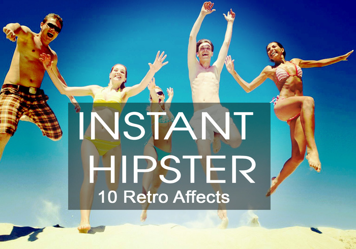 Instant Hipster - 10 Retro Acties
