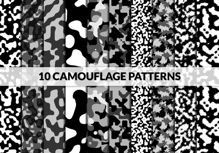 photo relating to Printable Camo Stencils named 10 Camouflage Styles Absolutely free Photoshop Practices at Brusheezy!