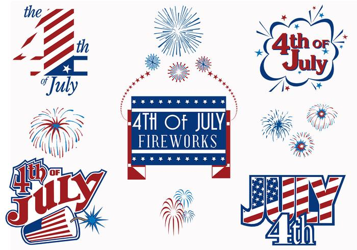 4th of July Fireworks Brushes Pack
