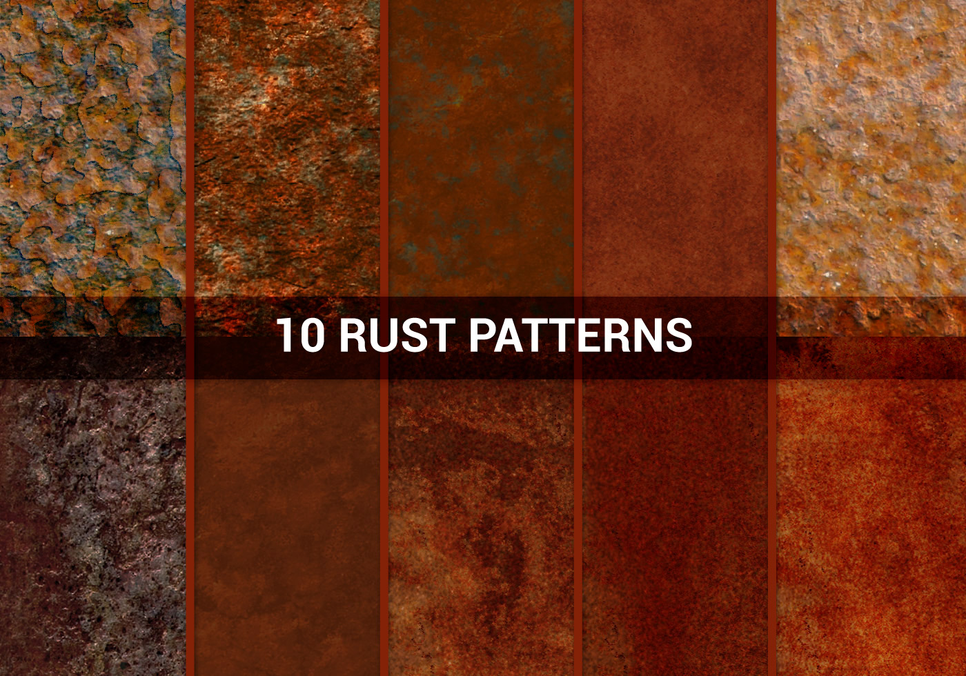 rust colored pattern in-#29
