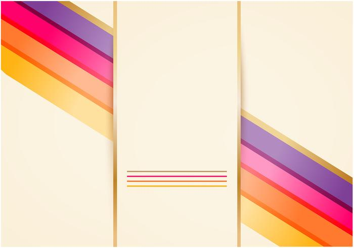 Golden Wallpaper with Bright Lines