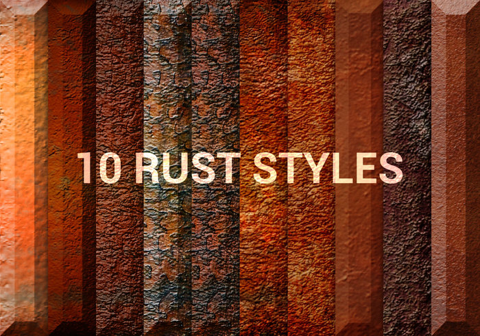 grungy rust styles free photoshop styles at brusheezy