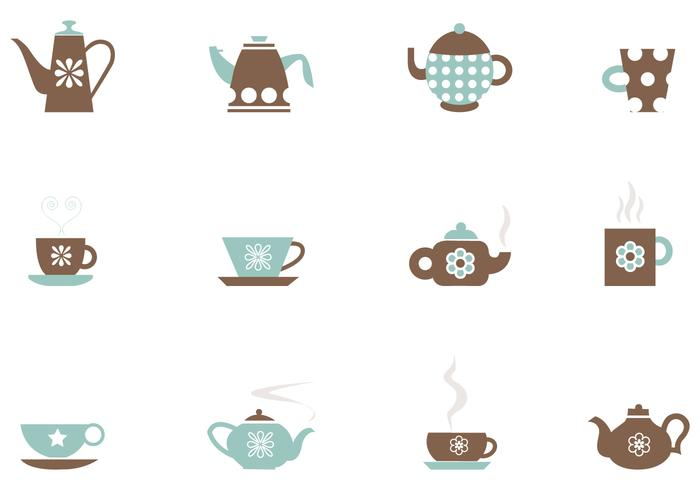 Tea and Coffee Brushes Pack