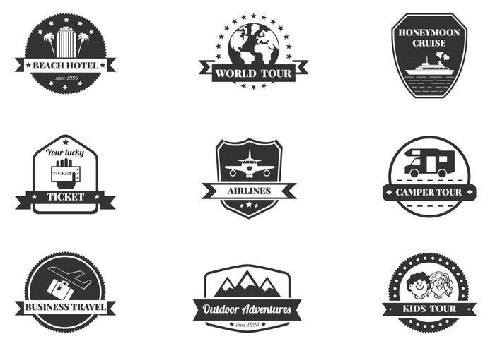 Reisebürste Icons Pack