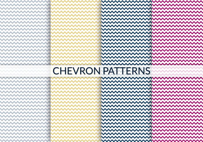 Kostenlose Chevron Patterns