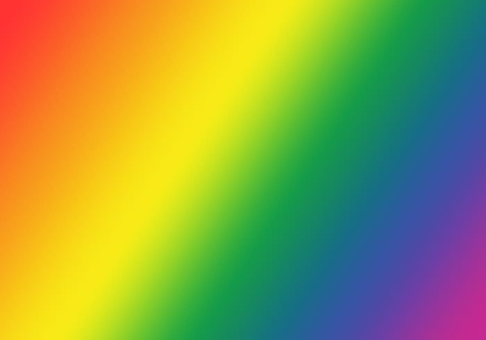 Gay pride gradient
