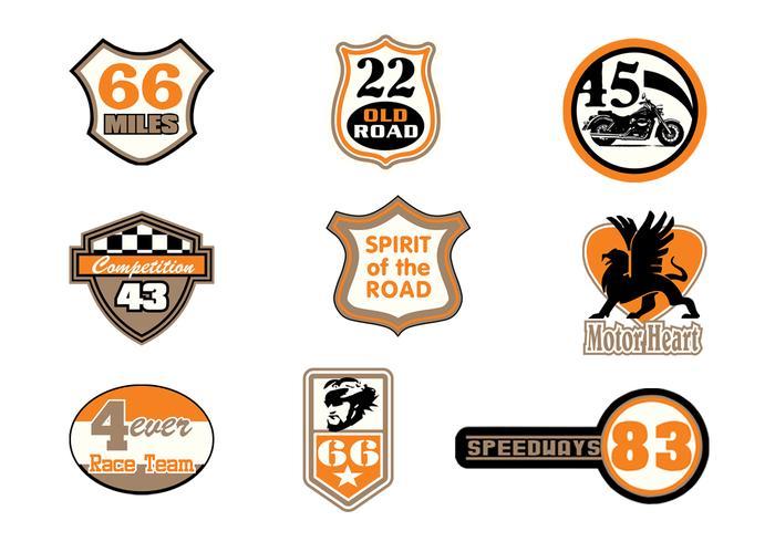 Pack de pinceaux de badge Motor Raceway