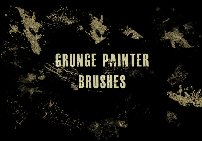 Grunge Paint Brushes