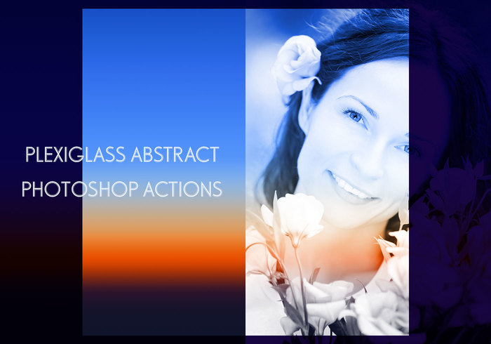 Plexiglass Photoshop Actions by SparkleStock