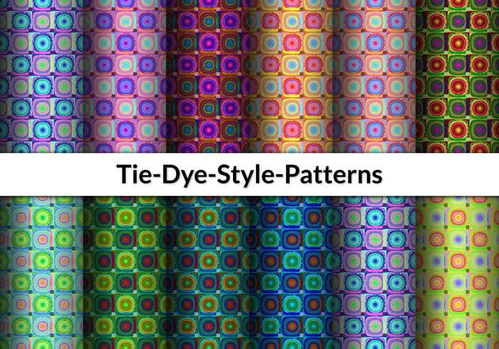 12 Patrones de teñido de corbata
