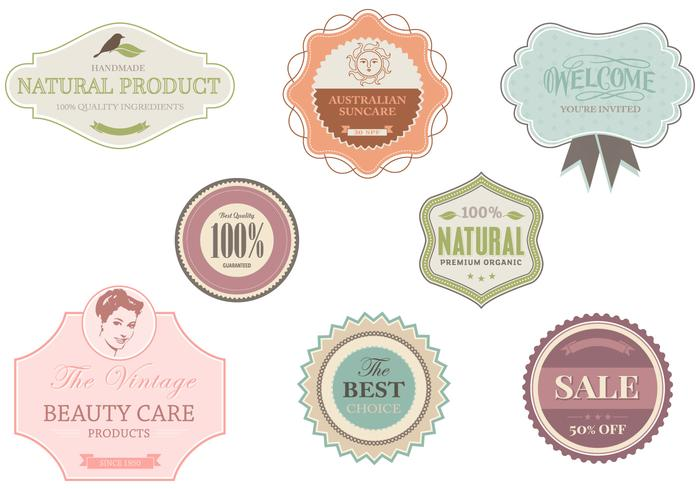 Shop und Boutique Label Brushes Pack