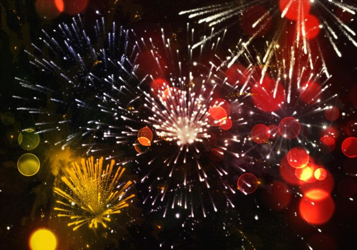 10 brosses d'artifice
