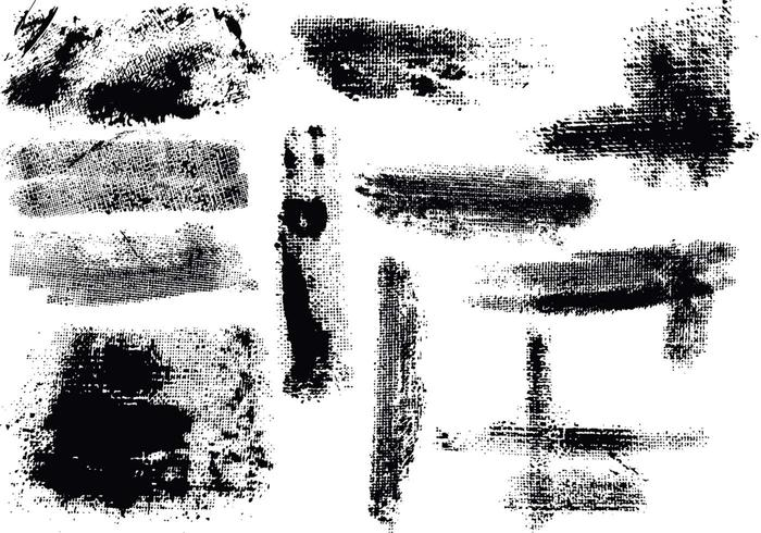 Grunge Texture Brushes Pack