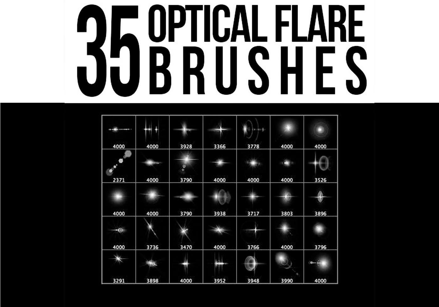 35 Optical Flare Brushes - Free Photoshop Brushes at ...