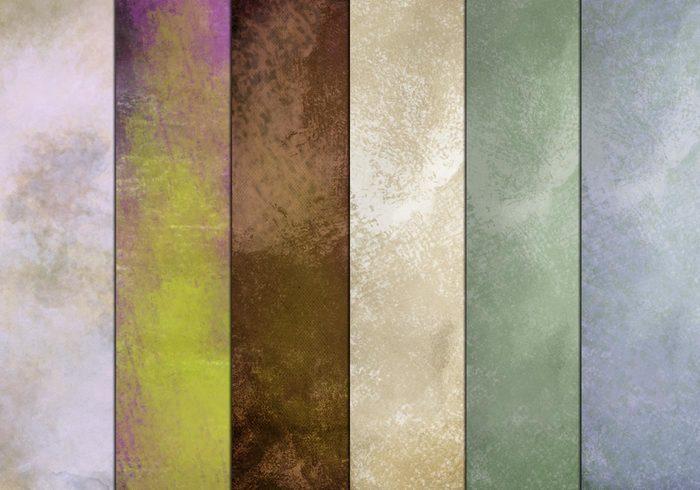 Grunge texturer set