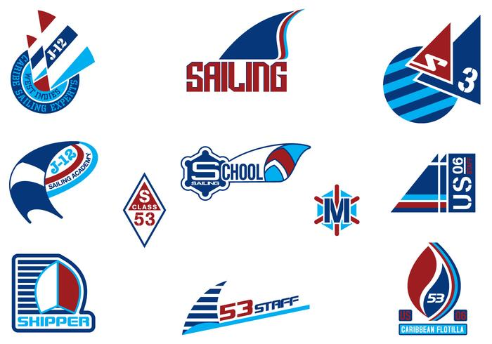 Sailing Logo Brushes Pack