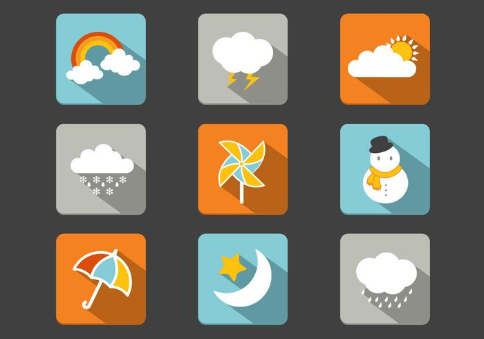 Weather PSD Icon Pack