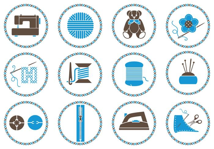 Sewing Brush Symbol Pack